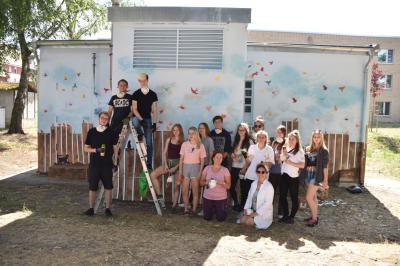 Fotoalbum Schülerprojekt im AWO Seniorenpflegezentrum in Wittenberge