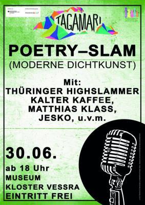 Fotoalbum Die große Wörterschlacht: Poetry Slam in Kloster Veßra