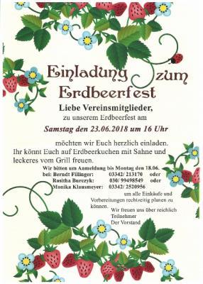 Fotoalbum Erdbeerfest