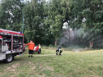Fotoalbum Ausstellung zur Geschichte und der Zukunft der Feuerwehr Sülte