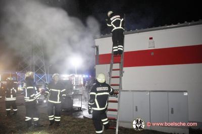 Fotoalbum Gebäudebrand in der Industriestraße, Lübz