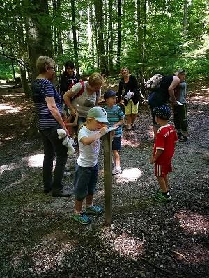 Fotoalbum Ausflug der EISs-Bärengruppe zum Walderlebnispfad in Freising