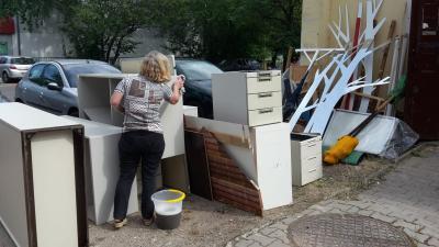 Fotoalbum Umzug unseres technischen Fundus nach Neustadt