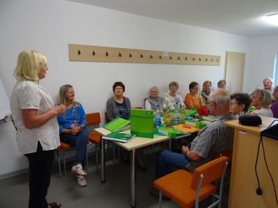 """Foto des Albums: Schulung von Ehrenamtlichen in Uebigau-Wahrenbrück im Projekt """"Lange mobild und sicher zu Hause"""" (16.07.2018)"""