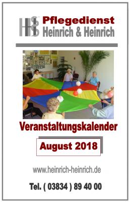 Fotoalbum Veranstaltungen im August