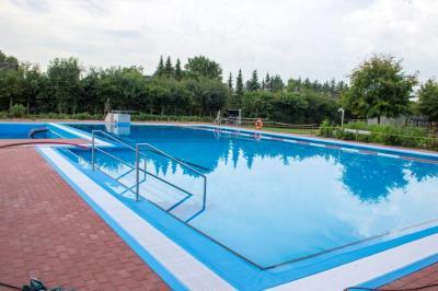Fotoalbum Erneuerung unseres beheizten Schwimmbades 2017 /2018 hier 31.07.2018