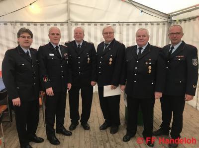 Fotoalbum 190 Jahre Dienstzeit in der Freiwilligen Feuerwehr Handeloh