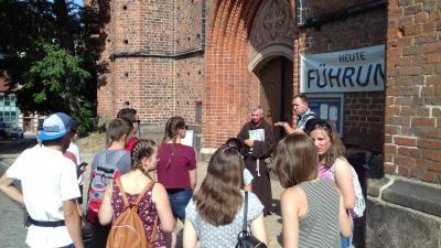 Fotoalbum Besuch einer Jugendgruppe aus Rumänien in Mecklenburg
