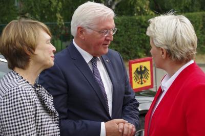 Fotoalbum Bundespräsident zu Besuch