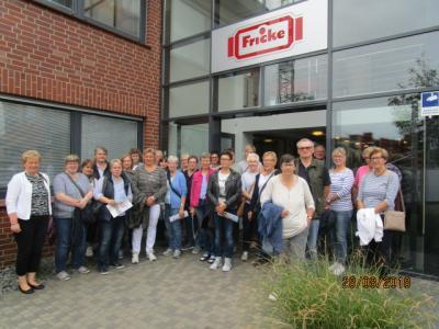 Fotoalbum Besichtigung des neuen Hochlagers der Firma Fricke
