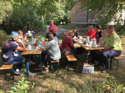 Fotoalbum 27. Sprachcafé in der Ökostation Neugattersleben