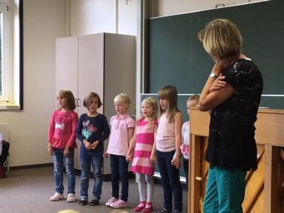 Fotoalbum Schülerversammlung