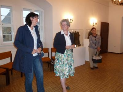 Fotoalbum Besuch der Ministerin Anne-Marie Keding in Harzgerode