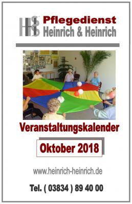 Fotoalbum Veranstaltungen im Oktober