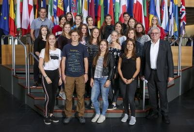 Fotoalbum Europa hautnah erleben- Abiturienten in Straßburg