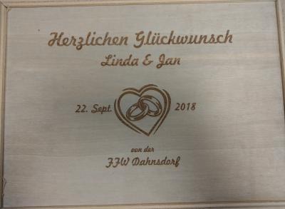 Fotoalbum Hochzeit unseres Ortswehrführers Jan-Rainer Winkelhaus