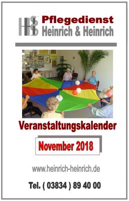 Fotoalbum Veranstaltungen November