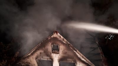 Fotoalbum Gebäudebrand Seelow 16.10.18