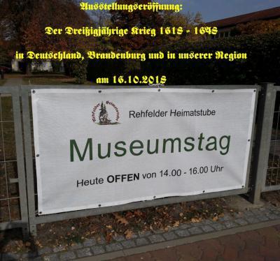 Fotoalbum Ausstellungseröffnung: Der Dreißigjährige Krieg 1618 - 1648