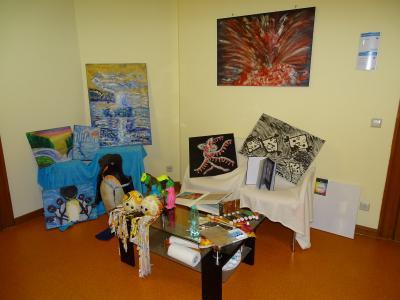 Fotoalbum Ausstellungseröffnung Naiver Malerei von Ines Wobst