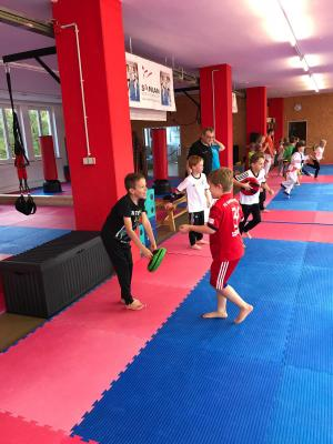 Fotoalbum Schnuppertraining Karate
