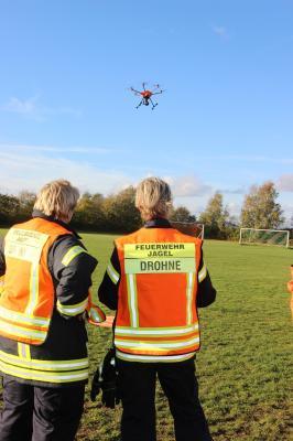 Fotoalbum Drohnenvorstellung in Jagel