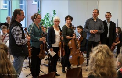 Fotoalbum Projekttag der Fachgruppe Streicher in Lübz