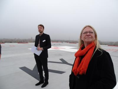 Fotoalbum Eröffnung Hubschrauberlandeplatz KMG Klinikum Kyritz