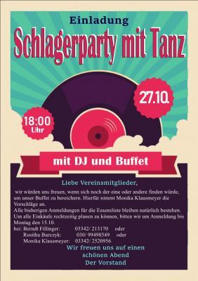 Fotoalbum Schlagerparty mit Tanz