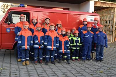 Fotoalbum Abnahme der Kinder - und Jugendflamme in Quitzow