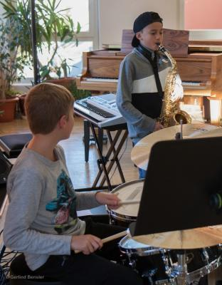 Fotoalbum Musikschüler bringen den Groove in den Saal