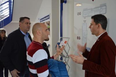 Fotoalbum Delegation aus der Partnerstadt Razgrad zu Gast in Wittenberge