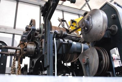 Fotoalbum Spinnmaschine für Museumsfabrik Pritzwalk