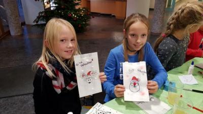 Fotoalbum Weihnachtsbasteln in der Amtsverwaltung (15. Brücker Adventskalender)