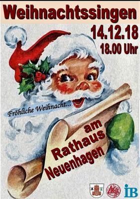 Fotoalbum Weihnachtssingen am Rathaus Neuenhagen