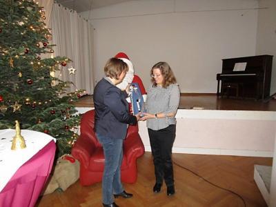 Fotoalbum Adventsfeier mit Referentin Gesine Lange