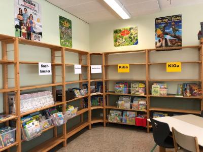Fotoalbum Die neue Schulbücherei
