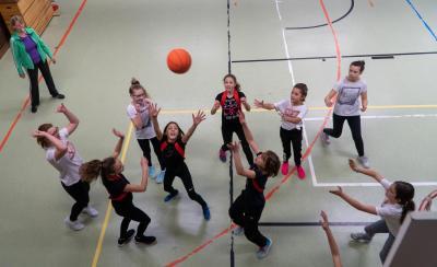 Fotoalbum Sporttage an der Grimmelshausenschule