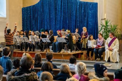 Fotoalbum Weihnachtsgottesdienst der Grundschule