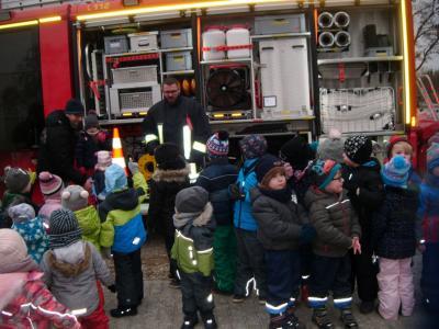 Fotoalbum Besuch der Feuerwehr