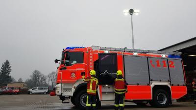 Foto des Albums: Fahrzeug- übergabe der HLF 20 (01.02.2019)