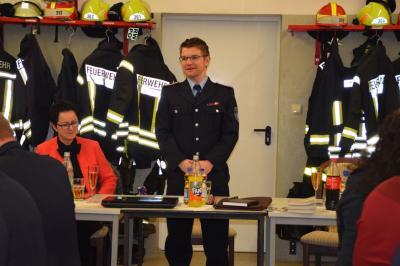 Fotoalbum Jahreshauptversammlung der Freiwilligen Feuerwehr Düpow