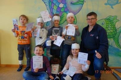 Fotoalbum Erste-Hilfe-Kurs, auch für die Kleinen