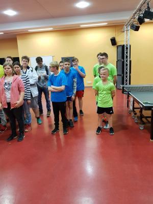 Fotoalbum Jugend trainiert für Paralympics Tischtennis - WIR SIND LANDESMEISTER