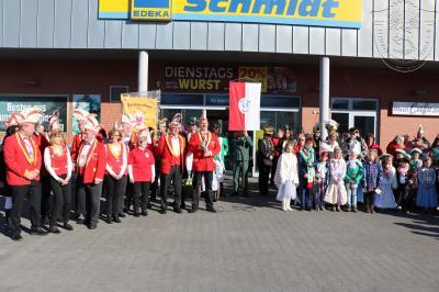 Fotoalbum 16. Kinder-Karnevals-Parade des LCV in Lehnin