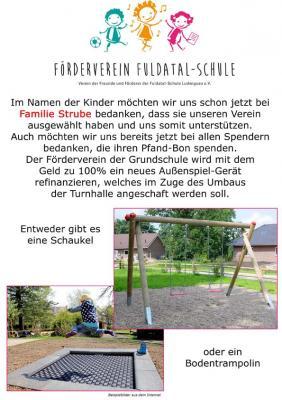 Fotoalbum Spendenaktion im Rewe