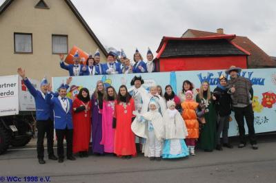 Fotoalbum Umzug in Plessa