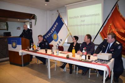 Fotoalbum Jahreshauptversammlung der Freiwilligen Feuerwehr Perleberg