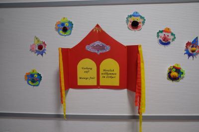 Fotoalbum Zirkus Phantasie - in den Klassen