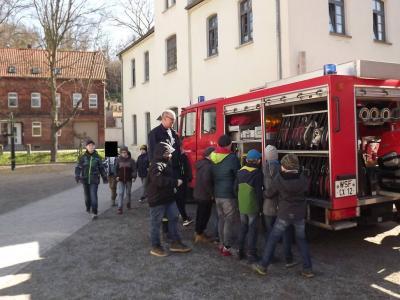 Fotoalbum Brandschutzerziehungstag in der Grundschule Teuchern